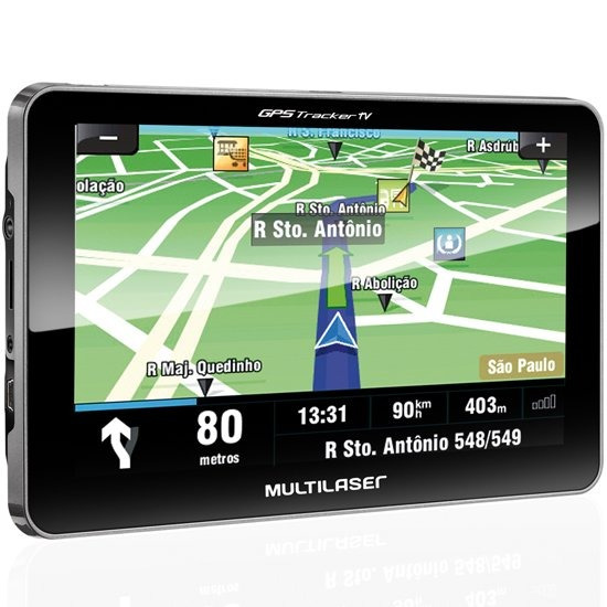 Gps Tracker Touchscreen 7.0 Pol Com Tv Digital-multilaser-gp
