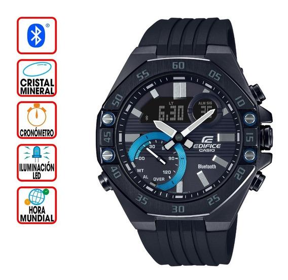 Reloj Casio Edifice Bluetooth Serie Smartphone Ecb-10pb-1a