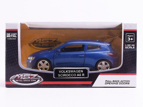 Auto De Coleccion Volkswagen Scirocco A6 R Escala 1:38 Msz