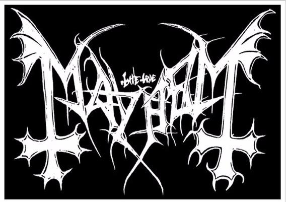 Backpatch Mayhem Logo 28x20 - Patch Costas