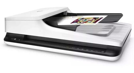 Scanner De Mesa Hp Scanjet Pro 2500 F1 (l2747a) - Digitaliza