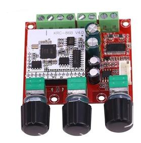 Placa Amplificador 2.1 30+30+60 120w Bluetooth 4.0 Integrado