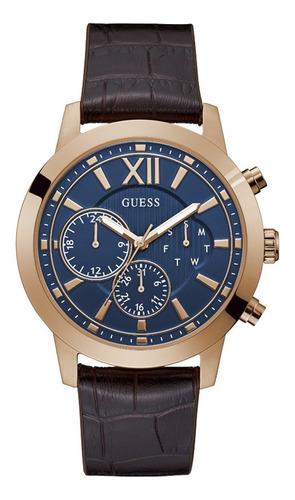 Reloj Para Hombre Guess Mercury Color Café Gw0219g3