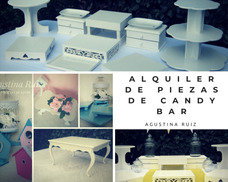 Candy Bar-alquiler Bases Objetos-ambientaciones-pijamadas