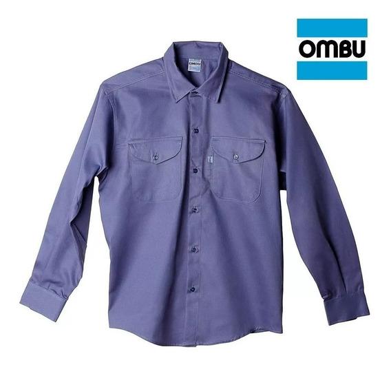 Camisa De Trabajo Manga Larga Ombu
