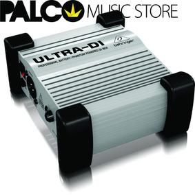 Direct Box Ativo Behringer Ultra Di D1100 - Loja Palco