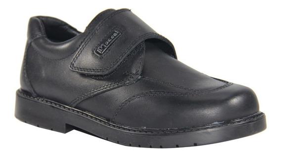 Zapato Colegial Marcel Para Varón Con Abrojo 30 Al 33