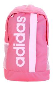 Mochila adidas Feminina Escolar Lin Core Original Promoção