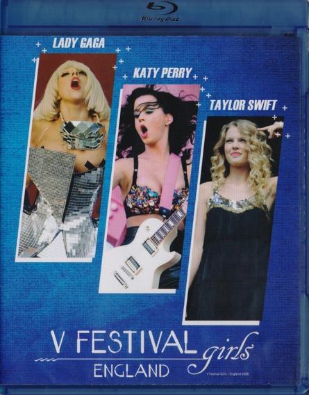 V Festival Girls Lady Gaga Katy Perry Taylor Swift Blu-ray