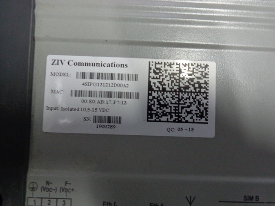 Adaptador De Comunicacion Ziv 4sipg131212d00a2