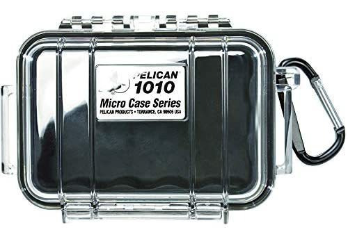 Pelican 1010 Micro Case (negro / Claro)