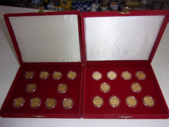 2 Colecciones De Moneda De Oro Soberano Argentino