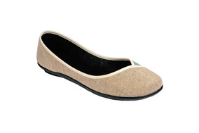 Tovaco Zapato Casual Flats Para Mujer Color Beige Y Cafe