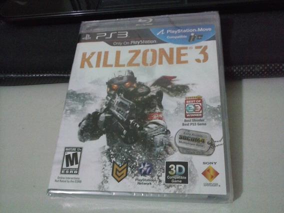 Ps3 - Killzone 3 - Lacrado - Frete 6,00