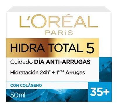 Crema Humectante Loreal Hidra-total 5 35+
