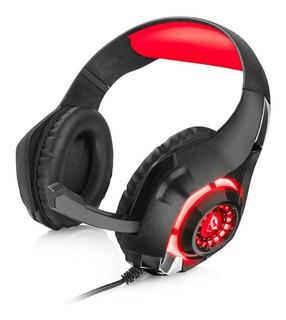 Audifono Diadema Gamer Trust Gxt 313 Nero Laterales Con Ilum