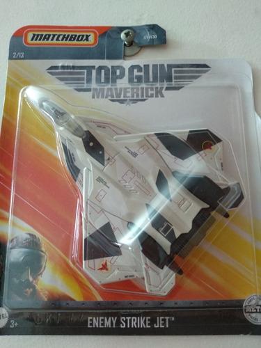 Avión Top Gun Maverick Enemy Strike Jet Sky Busters Matchbox
