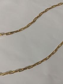 Corrente Masculina Banhada A Ouro 18k 80cm/03mm/20g