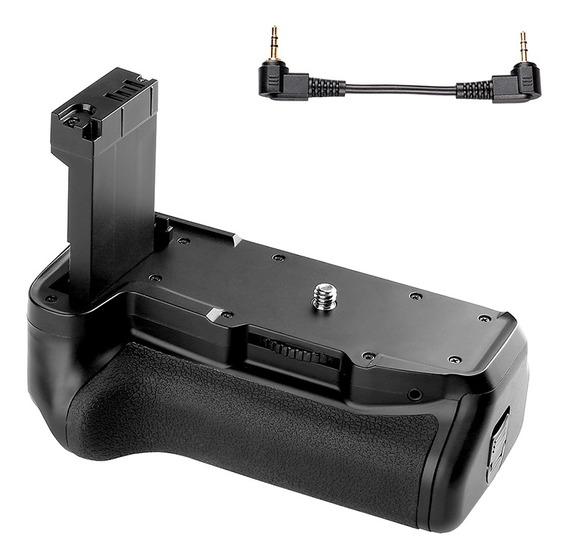 Suporte De Aderência De Bateria Vertical Para Canon Eos 800d