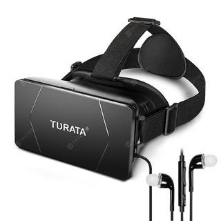 Óculos De Realidade Virtual 3d + Fone De Ouvido