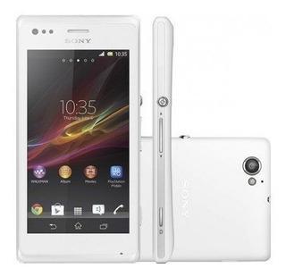Smartphone Sony Xperia M C2004 Desbloqueado Preto Tipo B