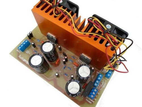 Modulo 100+100 W Puenteable A 200 W Con Disipador Y Coolers
