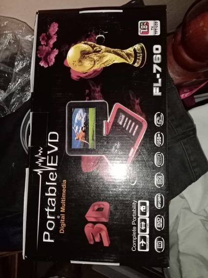 Reproductor De Dvd Portátil Pantall De 7.8