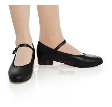 Sapato Feminino Sapateado, Salto 2,5cm Com Chapa Colocada