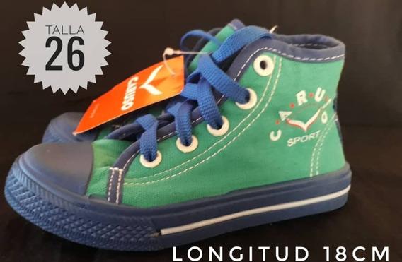 Zapatos Botines Caruso Para Niños/3v