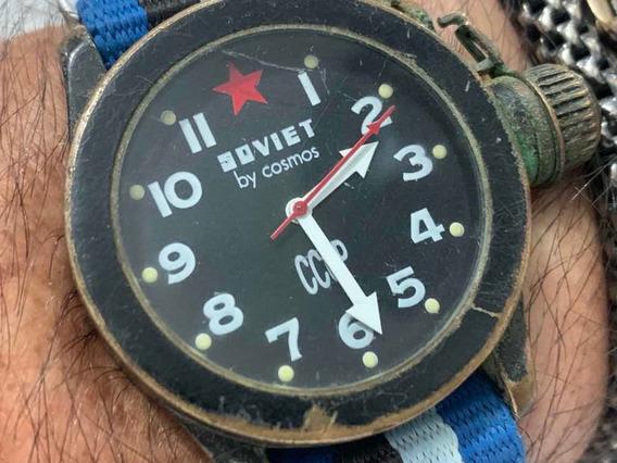 Soviet By Cosmos Cccp Wr30m Quartz