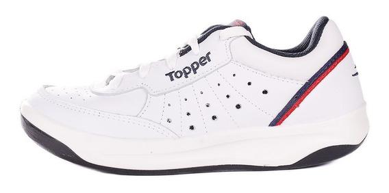 Zapatillas Topper Xforcer Hombre Blancas ¡¡¡envío Gratis!!!