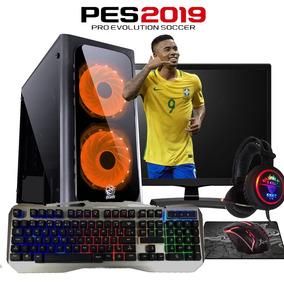 Pc Gamer Completo Barato Novo/windows 10/ Jogos/ Quad Core