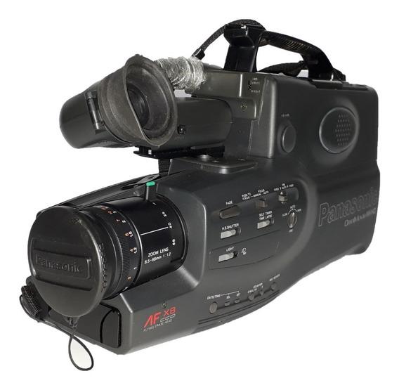 Filmadora Panasonic Omnimovie Vhs Hq Pv-520d Retirada Peças