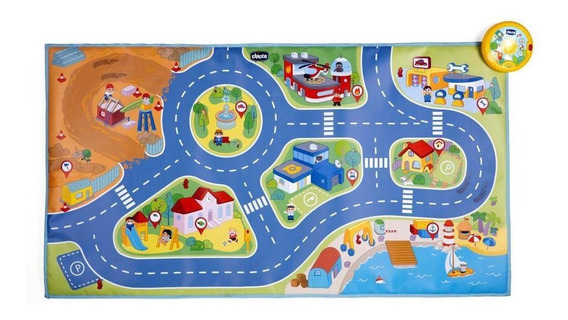 Chicco Juguete Mini Turbo Touch City Playmat