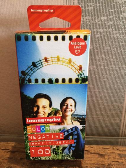 Filme 35mm Lomography Negativo Colorido Iso 100 3 Un 36 Expo