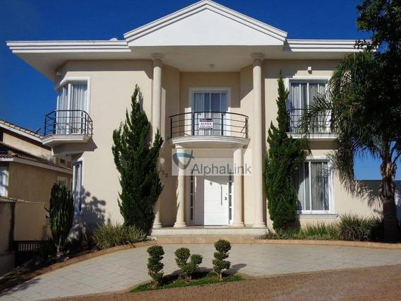 Casa Com 4 Dormitórios Para Alugar, 676 M² Por R$ 12.000/mês - Alphaville Genesis I - Santana De Parnaíba/sp - Ca0820