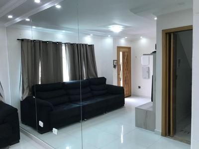 Lindo Sobrado De Condomínio De 3 Dormitório E 1 Suite Na Guilhermina Esperança - So14331