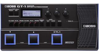 Boss Gt-1 Procesador De Efectos Para Guitar Effects