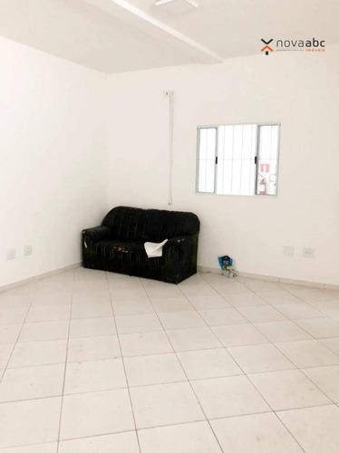 Sala Para Alugar, 30 M² Por R$ 850,00/mês - Vila Alto De Santo André - Santo André/sp - Sa0291