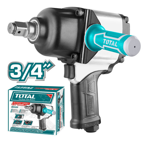 Pistola Impacto Neumatica Total Tools/3/4 /1600nm/9cfm/90psi