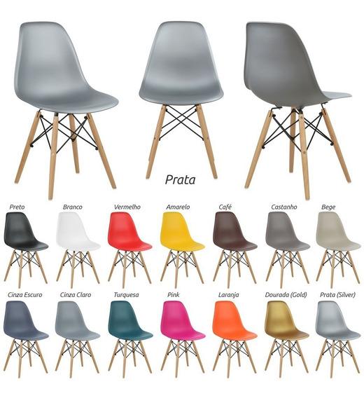 Cadeira New Wood C/ 14 Cores Promoção 12x S/ Juros