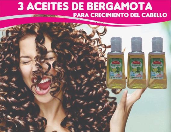 3 Aceites De Bergamota Para Crecimiento Del Cabello