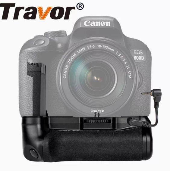 Grip Canon Eos 800d Rebel T7i 77d X9i + 4 Baterias Lp-e17
