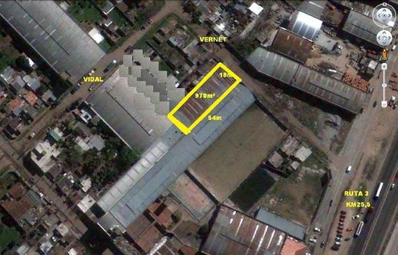 Galpon 1000m² Ruta 3 Km 25,5 Altura Aero Club Argentino