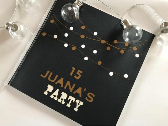 Libro De Firmas Cumpleaños Casamientos