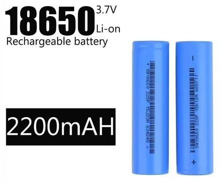 Bateria (pilha) Recarregável 18650 X 2200 - 01 Unidade