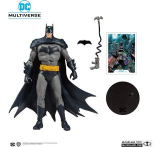 Batman Figura De Accion Comics Mcfarlane Toys Dc Multiverse