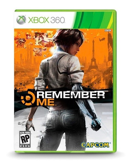 Remember Me - Original Xbox 360 - Novo