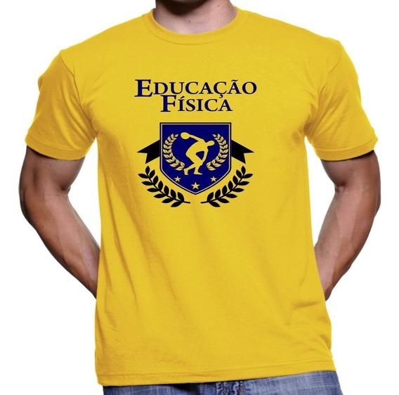 Camisa Camiseta Educação Física Universitária Personalizada
