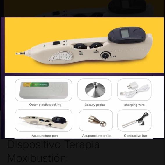 Pluma De Acupuntura Digital Dispositivo Terapia Moxibustion